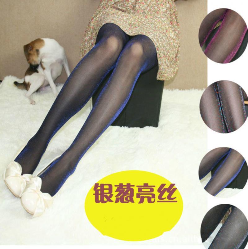 珠光丝连裤袜